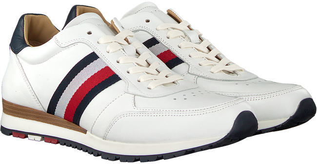 Weiße TOMMY HILFIGER Sneaker LUXURY CORPORATE  - large