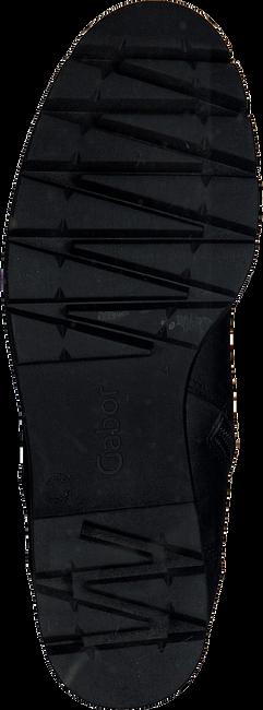 Schwarze GABOR Schnürboots 93.711.27 NEW JERSEY - large