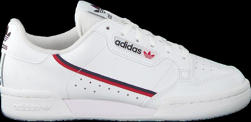 Weiße ADIDAS Sneaker CONTINENTAL 80 J  - larger
