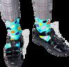 Grüne HAPPY SOCKS Socken BIG DOT  - small