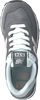 Graue NEW BALANCE Sneaker WL574  - small