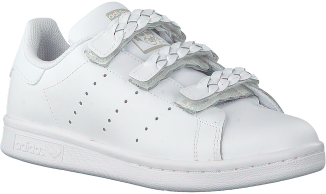 Weiße ADIDAS Sneaker low STAN SMITH CF J  - large