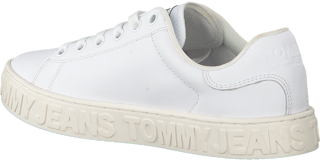 Weiße TOMMY HILFIGER Sneaker low COOL TOMMY JEANS SNEAKER WMNS  - large