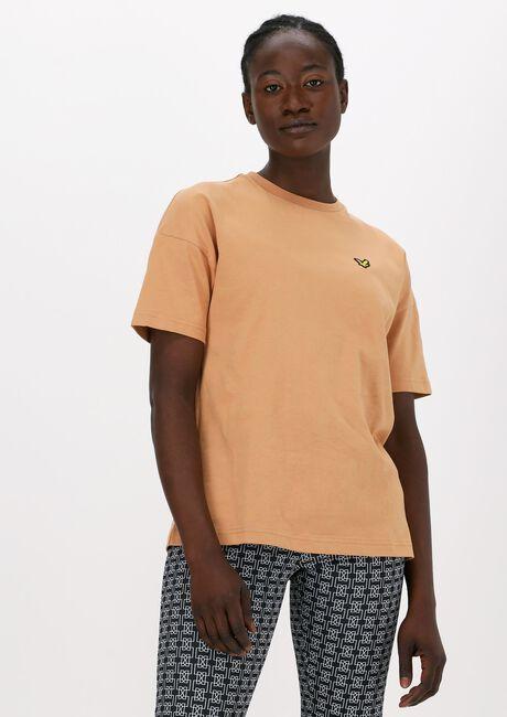 Beige LYLE & SCOTT T-shirt OVERSIZED T-SHIRT  - large