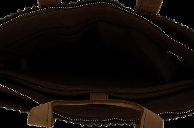 Braune MYOMY Laptoptasche BUSINESS BAG - large