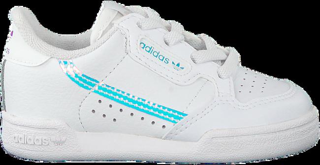 Weiße ADIDAS Sneaker CONTINENTAL 80 EL I  - large