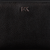 Schwarze MICHAEL KORS Portemonnaie MONEY PIECES ZA SNAP WALLET - small