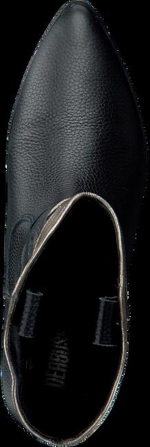 Schwarze DEABUSED Stiefeletten 6010  - large