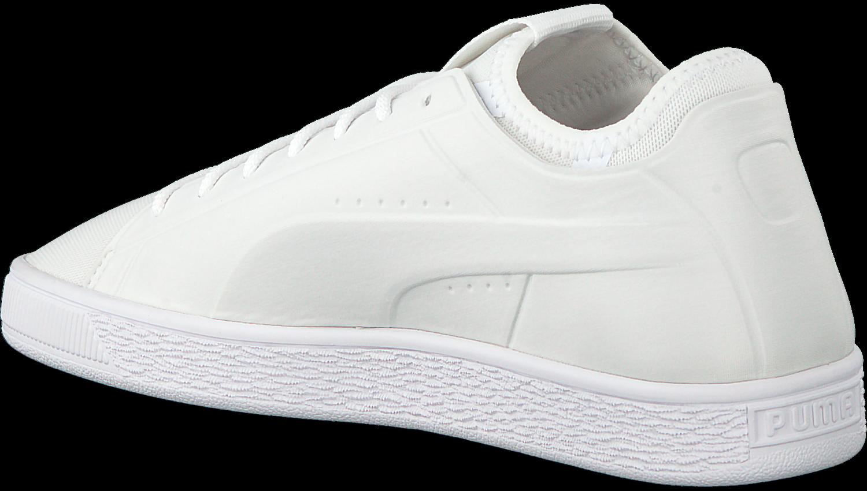 the latest ad9b7 390bc Weiße PUMA Sneaker BASKET CLASSIC SOCK LO MEN