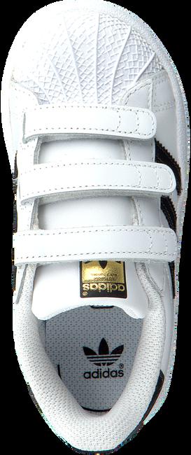 Weiße ADIDAS Sneaker SUPERSTAR CF I - large