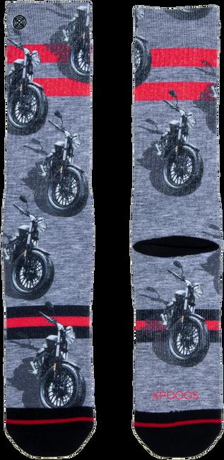 Mehrfarbige/Bunte XPOOOS Socken MOTOR  - large