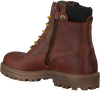Cognacfarbene DEVELAB Ankle Boots 41741 - small
