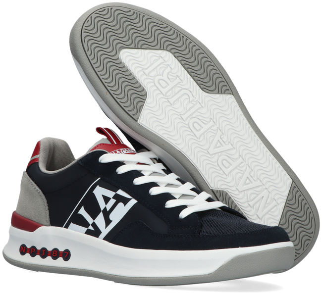 Blaue NAPAPIJRI Sneaker low EGRET  - large