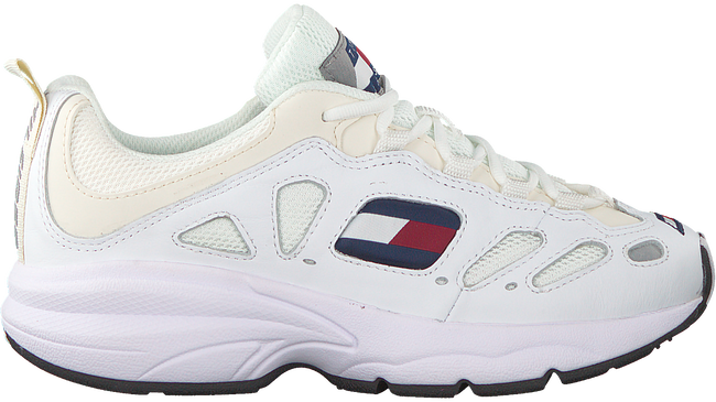 Weiße TOMMY HILFIGER Sneaker WMNS TOMMY JEANS RETRO SNEAKER  - large