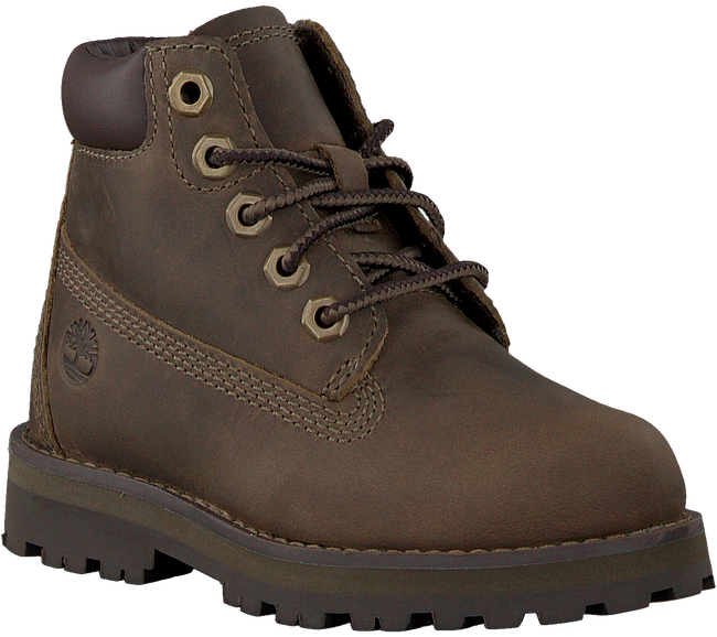 Braune TIMBERLAND Schnürboots COURMA KID TRADITIONAL 6 INCH  - large