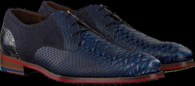 Blaue FLORIS VAN BOMMEL Business Schuhe 18106  - large