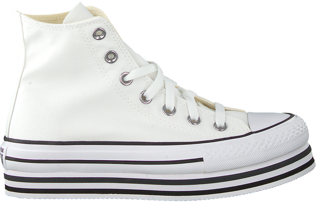 Weiße CONVERSE Sneaker high CHUCK TAYLOR AS PLATFORM LAYER  - large