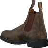 Braune BLUNDSTONE Chelsea Boots DRESS BOOT DAMES  - small