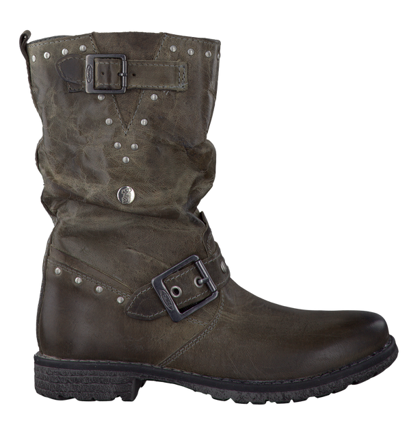Graue TWINS Langschaftstiefel 0033642 - large