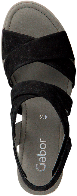 Schwarze GABOR Espadrilles 759.1 - large