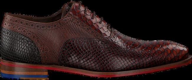 Cognacfarbene FLORIS VAN BOMMEL Business Schuhe 19104 - large
