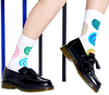 Weiße HAPPY SOCKS Socken HYPNOSIS  - small