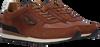 Cognacfarbene PME Sneaker low LOCKPLATE  - small
