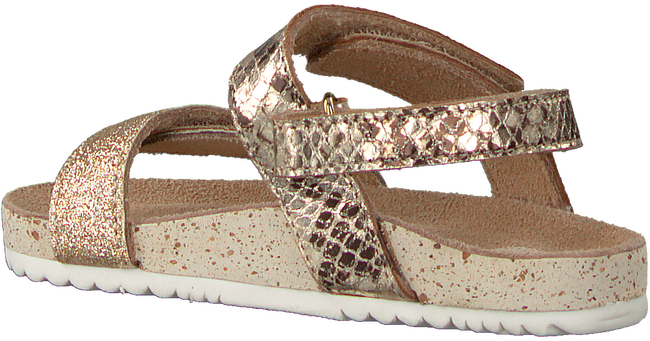 Goldfarbene GIOSEPPO Sandalen QUEVY  - large
