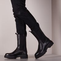 Schwarze VERTON Chelsea Boots 210  - medium
