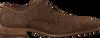 Braune BRAEND Business Schuhe 16086  - small