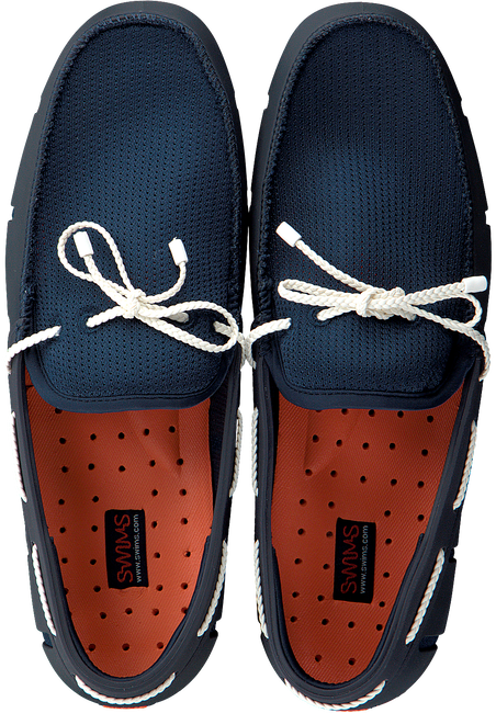 Blaue SWIMS Loafer BRAIDED LACE LOAFER  - large