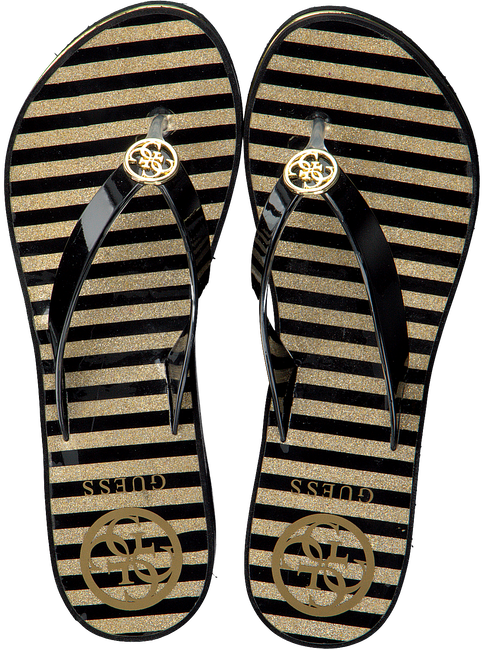 Schwarze GUESS Pantolette ENZY  - large