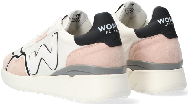 Weiße WOMSH Sneaker low RUNNY  - large