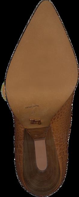 Cognacfarbene LOLA CRUZ Stiefeletten 059T45BK  - large
