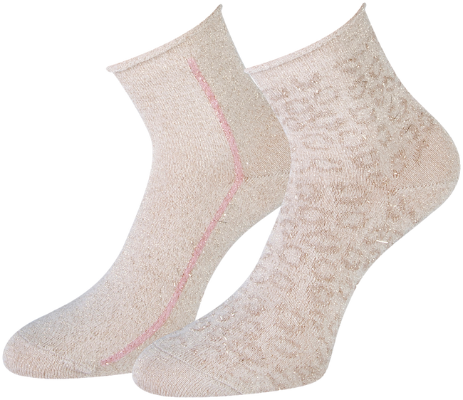 Beige MARCMARCS Socken AMY COTTON 2-PACK  - large
