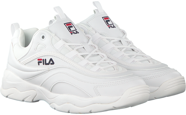 Weiße FILA Sneaker RAY LOW MEN  - large