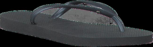 Schwarze HAVAIANAS Zehentrenner SLIM CRYSTAL GLAMOUR - large