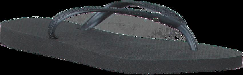 Schwarze HAVAIANAS Zehentrenner SLIM CRYSTAL GLAMOUR - larger