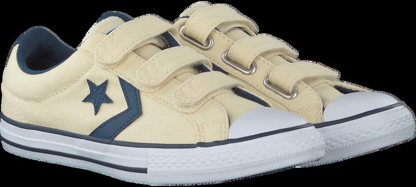 Weiße CONVERSE Sneaker STAR PLAYER 3V OX KIDS - larger