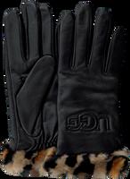 Schwarze UGG Handschuhe CUFF LOGO TECH  - medium