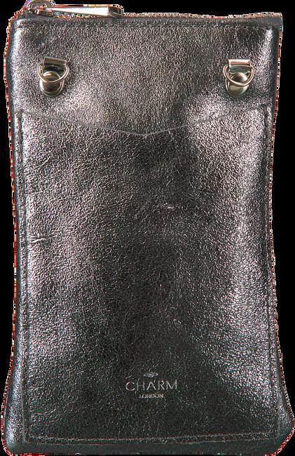 Silberne CHARM Handy-Schutzhülle L559  - large