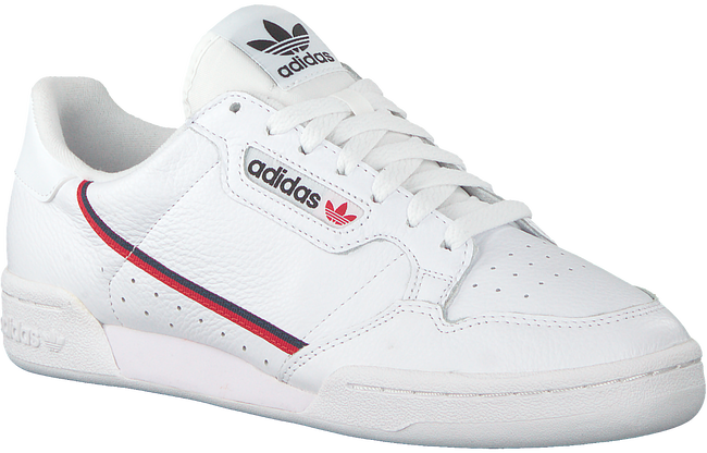 Weiße ADIDAS Sneaker CONTINENTAL 80  - large