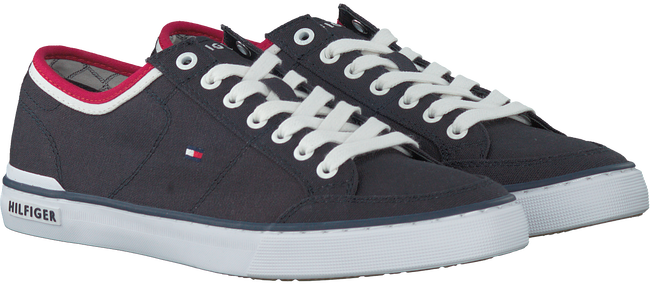Blaue TOMMY HILFIGER Sneaker CORE CORPORATE TEXTILE SNEAKER - large