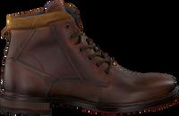 Cognacfarbene OMODA Ankle Boots 850066  - medium