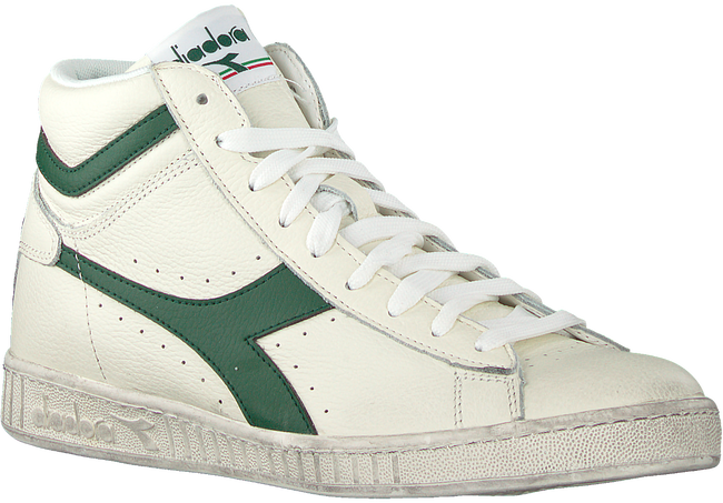 Weiße DIADORA HERITAGE Sneaker high GAME L HIGH  WAXED  - large