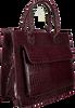 Braune HVISK Handtasche CAYMAN TOTE  - small