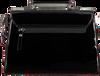 Schwarze LOULOU ESSENTIELS Handtasche 66BAG  - small
