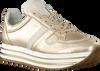 Goldfarbene OMODA Sneaker low DANIELLE 17-E  - small