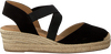 Schwarze UNISA Espadrilles CELE - small