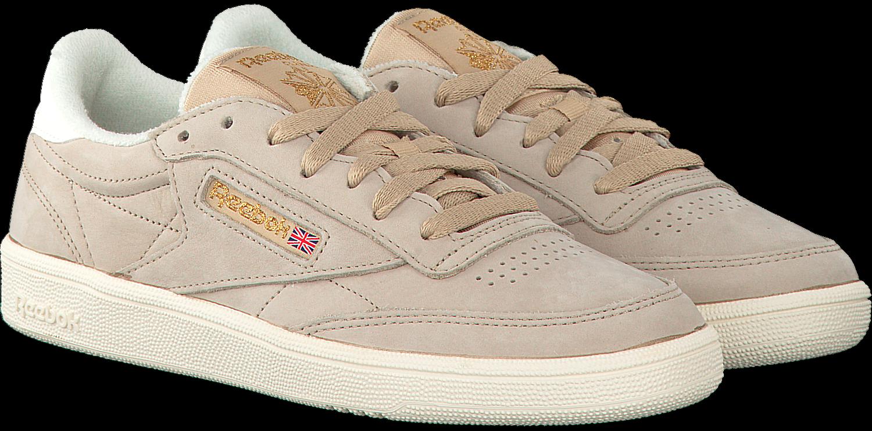 Beige REEBOK Sneakers CLUB C 85 WMN